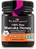 Wedderspoon 100% Raw Premium Manuka Honey KFactor 16+, 8.8 Ounce