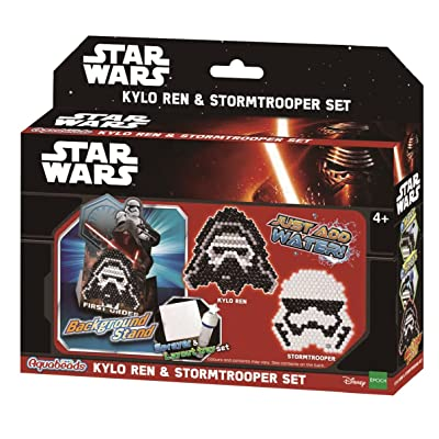 Aquabeads 30158 Star Wars Kylo Ren and Stromtrooper Set - Aqua Beads Craft Set: Toys & Games