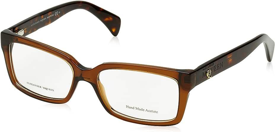 Amazon.com: Alexander Mcqueen 4182 Eyeglasses Color 0WCG