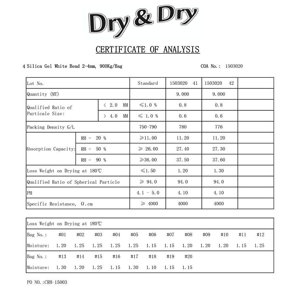 50 Gram Pack of 10 ''Dry & Dry'' Premium Pure & Safe Silica Gel Packets Desiccant Dehumidifiers - Rechargeable Fabric by DRY&DRY (Image #6)