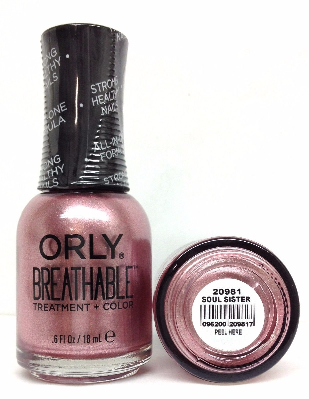 Orly BREATHABLE Treatment + Color Nail Lacquer New 2017 Collection - Pick Any Color (20981 - Soul Sister)