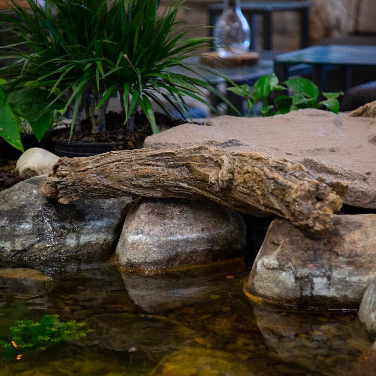 Aquascape 78276 30-inch Faux Driftwood Decorative Accent, Brown