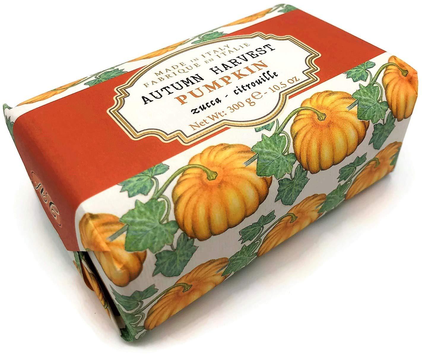 Amazon.com : Alighiero Campostrini Autumn Harvest Pumpkin Italian Luxury Bath Soap 10.5 ounces : Beauty