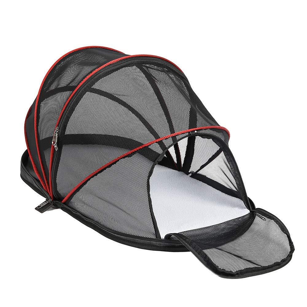 New Pet Car Tent Collapsible Pet Bag Portable Breathable Kennel Car Mat Waterproof Dog Pad Comfortable Breathable WearResistant Bite