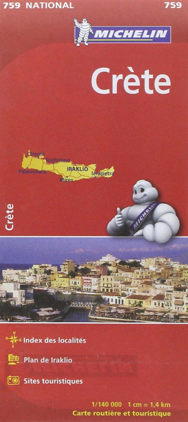Carte Routiere Crete En Francais.Amazon Fr Carte National Crete 1 140000 1cm 1 4km
