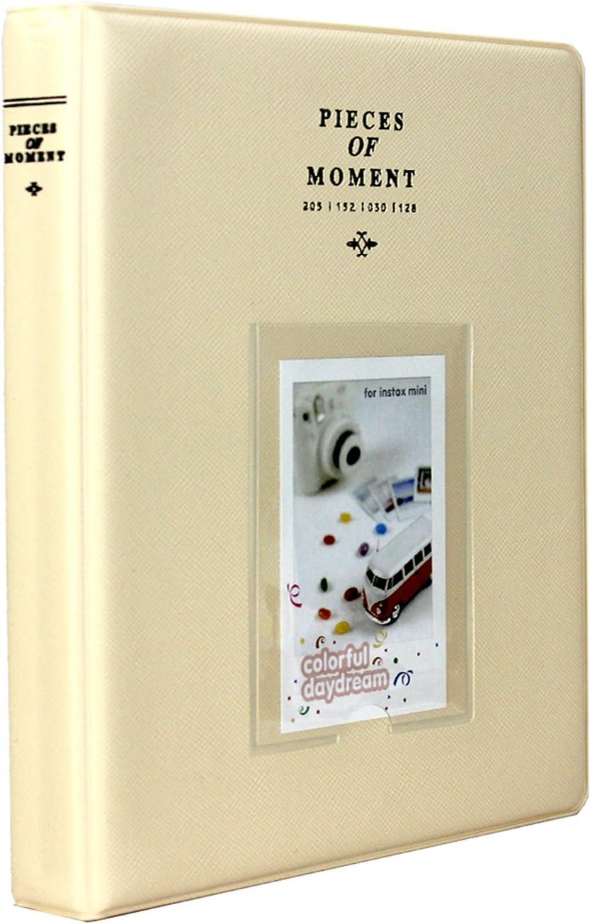 Polaroid Z2300 Polaroid PIC-300P Film Amazing Works 128 Pockets Photo Album for Mini Fuji Instax 70 7s 8 25 50s 90 Blue