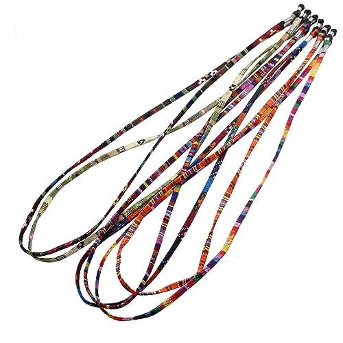 Gazechimp 5x Correa Multicolor Estilo Étnico para Gafas de Sol Lentes Anteojos