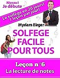 Solfège Facile Pour Tous ou Comment Apprendre Le Solfège en 20 Jours ! - Leçon N°6: La lecture de notes