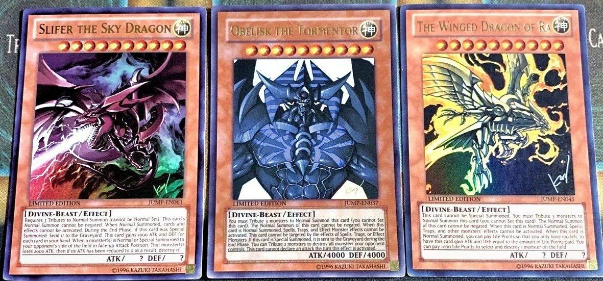 Kết quả hình ảnh cho 3 god cards alternative by Kazuki Takahashi