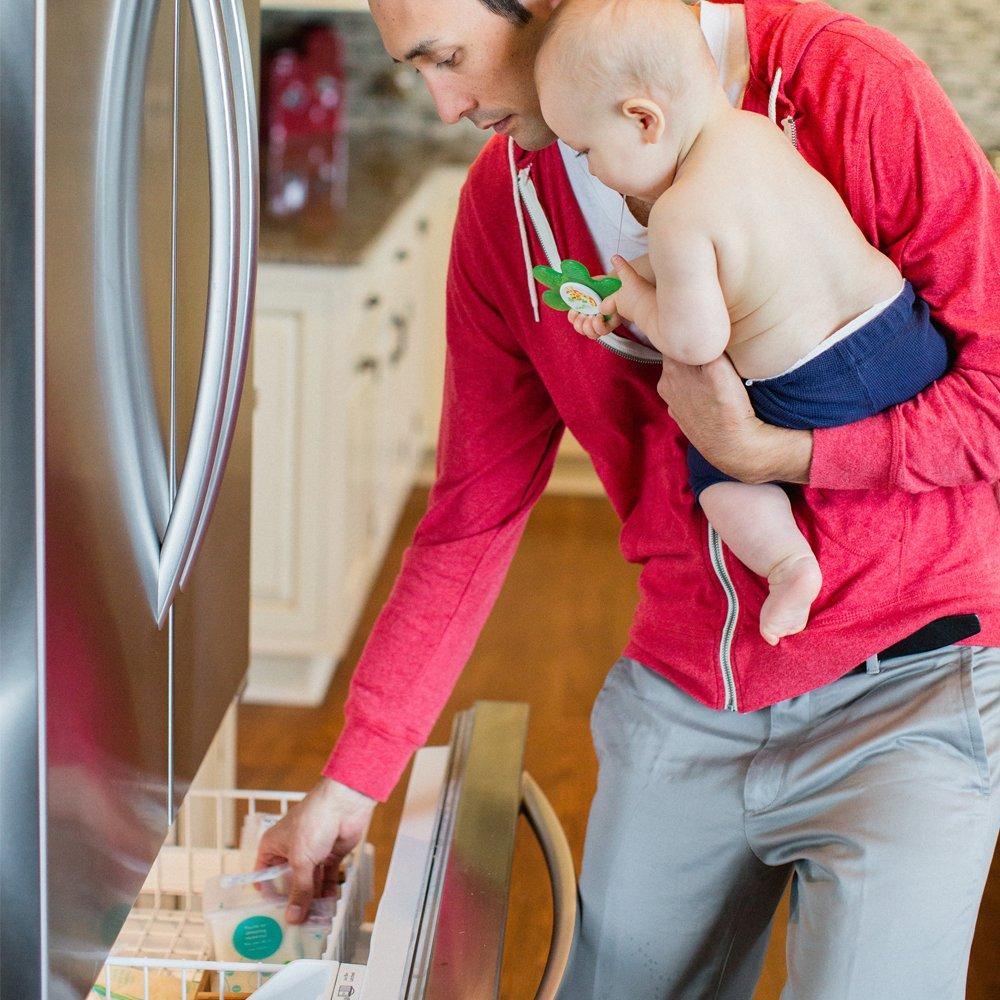 Evenflo Feeding Advanced Breast Milk Storage Bags for Breastfeeding - 5 Ounces (100 Count) by Evenflo Feeding (Image #8)