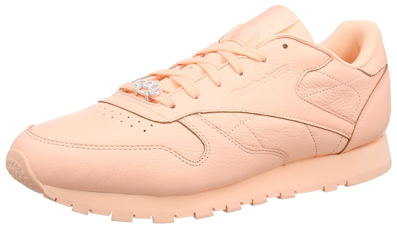 Reebok Classic Leder Leder Leder L, Damen Niedrig-top Sneaker Rosa (Grit-peach Twist/Sleek Met) 8ebcb5