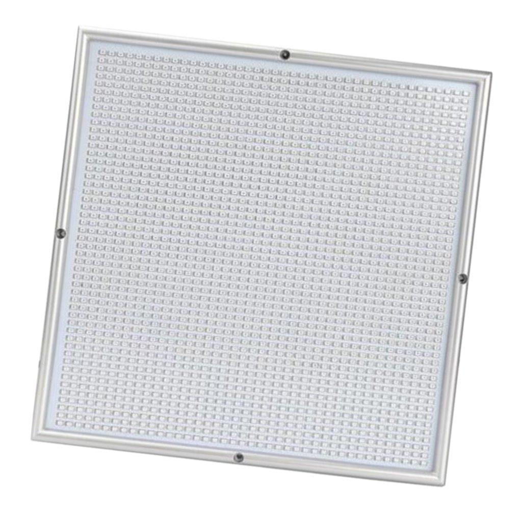 MagiDeal LED Coltiva Luce Illuminazione Lampada Impianto Verdure Pianti ABS PCB Bianca 120W