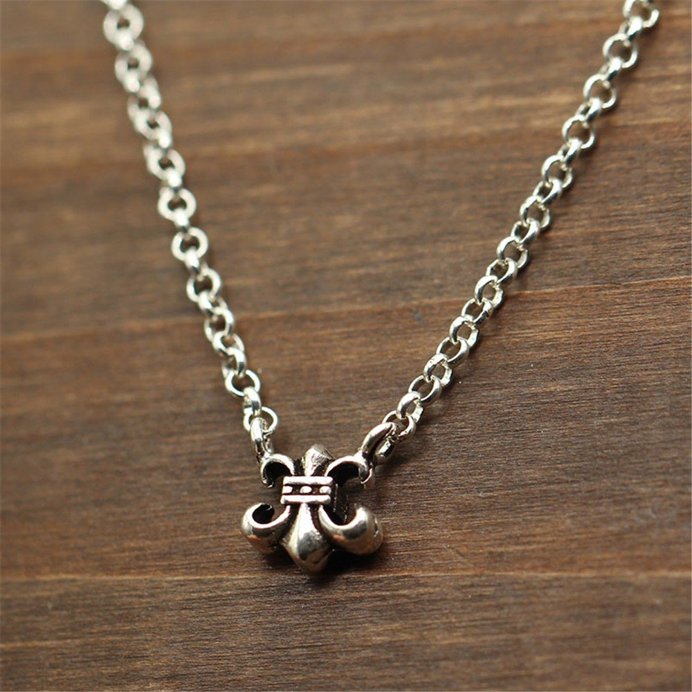 Dana Carrie Woman jewelry S925 sterling silver hollow love necklace clavicle chain pendant accessories