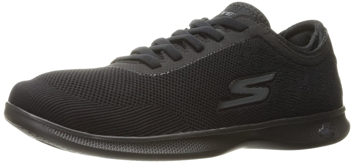 Skechers Performance Woherren Go Step Lite-Swerve Walking schuhe,schwarz,9 M US