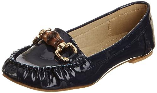 Traffic People 1221-4, Mocasines para Mujer, Azul-Verde, 5 UK: Amazon.es: Zapatos y complementos