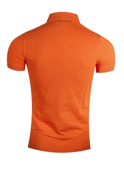 Tommy Hilfiger - Polo - para Hombre Naranja Naranja S: Amazon.es ...