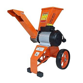 Trituradora eléctrica de 2800 W, 4 unidades, para hojas de madera, trituradora de jardín: Amazon.es: Industria, empresas y ciencia