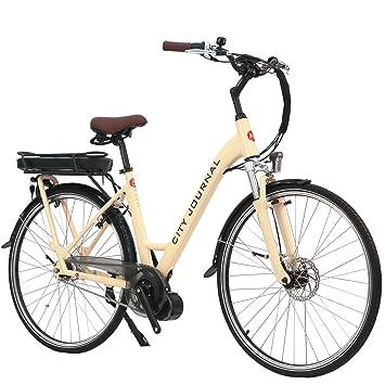 E-Bike eléctrico bicicleta holandesa B14 AsVIVA con 36 V 13 Ah Samsung batería