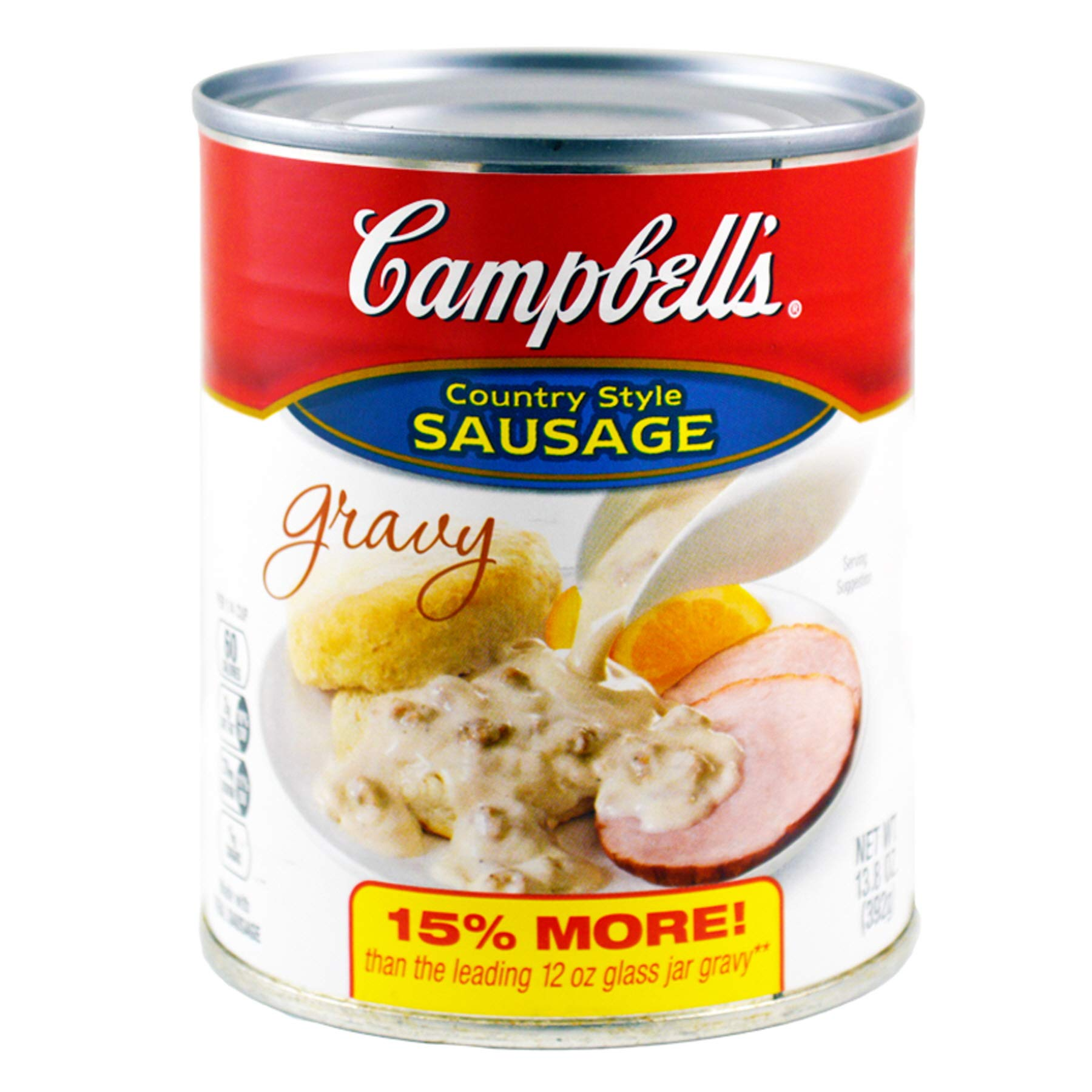 (Pack of 24) Campbell's Gravy Sausage, 13.6oz