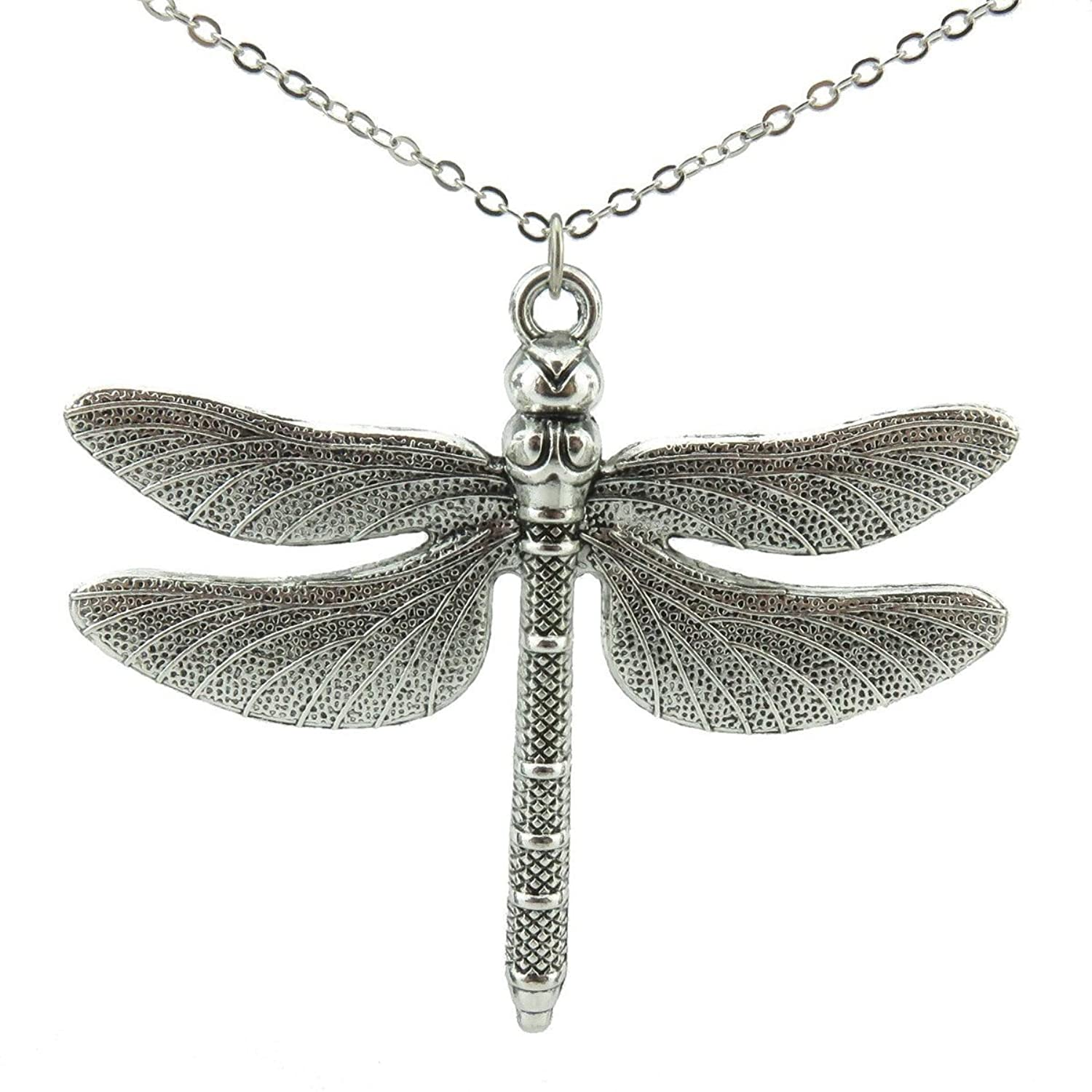 necklace black sterling ip walmart silver asteria diamond dragonfly canada pendant en accent