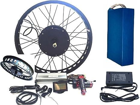 Theebikemotor 3000w Hub Motor Electric Bike Conversion Kit Lcd Disc Brake Rear Wheel Amazon Co Uk Sports Outdoors