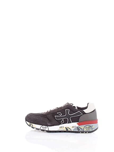 PREMIATA Herren Schuhe Sneakers Mick 2343 Technisches Gewebe Multicolor  Schwarz dc41b0eb1a