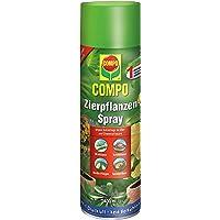 COMPO Zierpflanzen-Spray, Bekämpfung von Schädlingen an Zierpflanzen, Anwendungsfertig, 400 ml