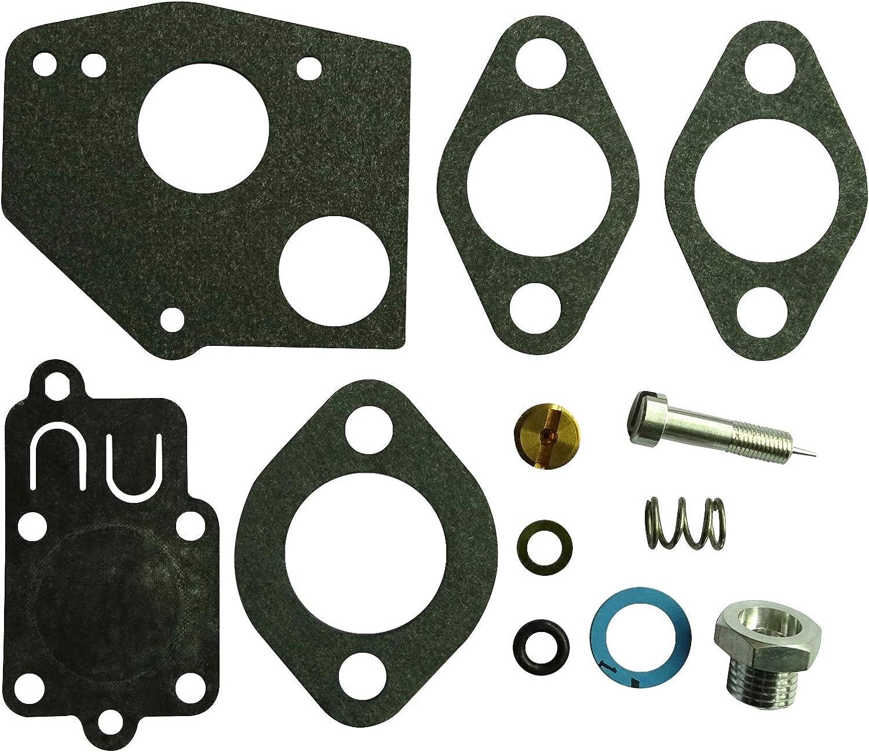 Kit de reconstrucción de carburador sustituye a Stens 520-015 Ratory 1413 Briggs & Stratton