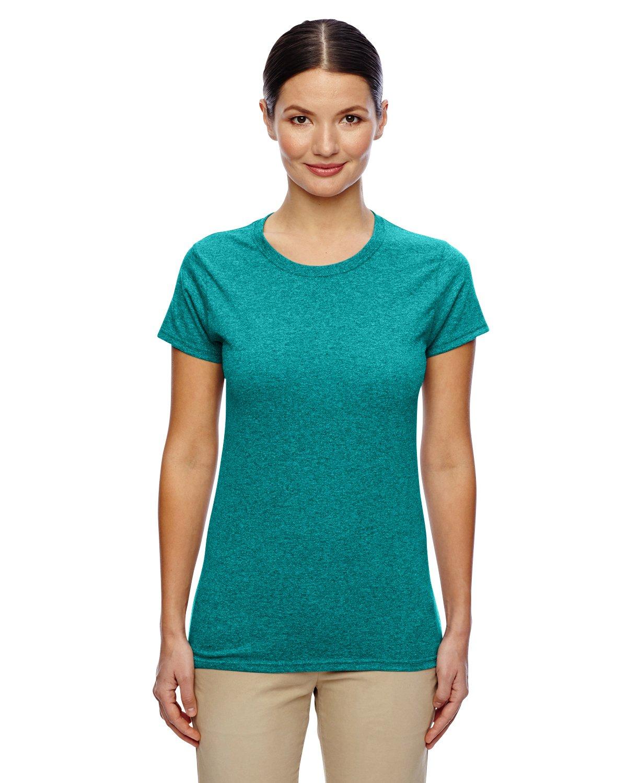 (ギルダン) Gildan メンズ ヘビーコットン 半袖Tシャツ トップス カットソー 定番 男性用 B01AK8ZVF0 3L|Antiq Jade Dome Antiq Jade Dome 3L