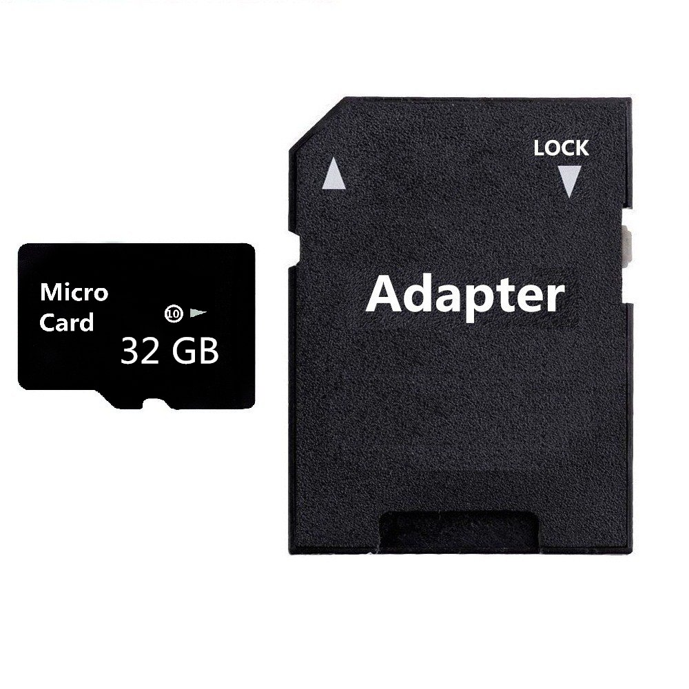 AERGU 128GB Micro Card SDXC Class 10 Memory Card with Adapter High Speed Memory Card TF Card (128 GB)