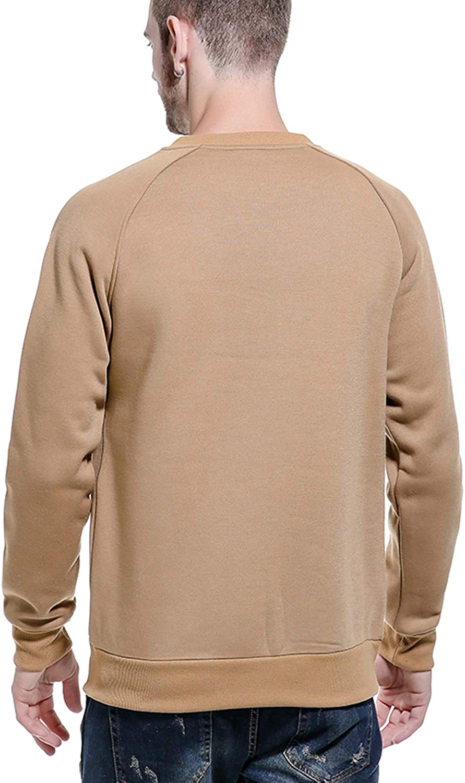 LBL Felpa da uomo maglione Pullover da lavoro Casual Felpa