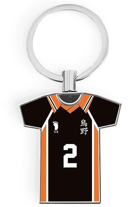 Llavero de Metal Haikyu! Kanto Factory - Camiseta del número ...