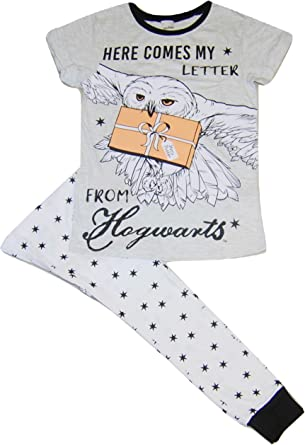 Pijama de Harry Potter para mujer, diseño de Hogwarts Here Comes My Letter