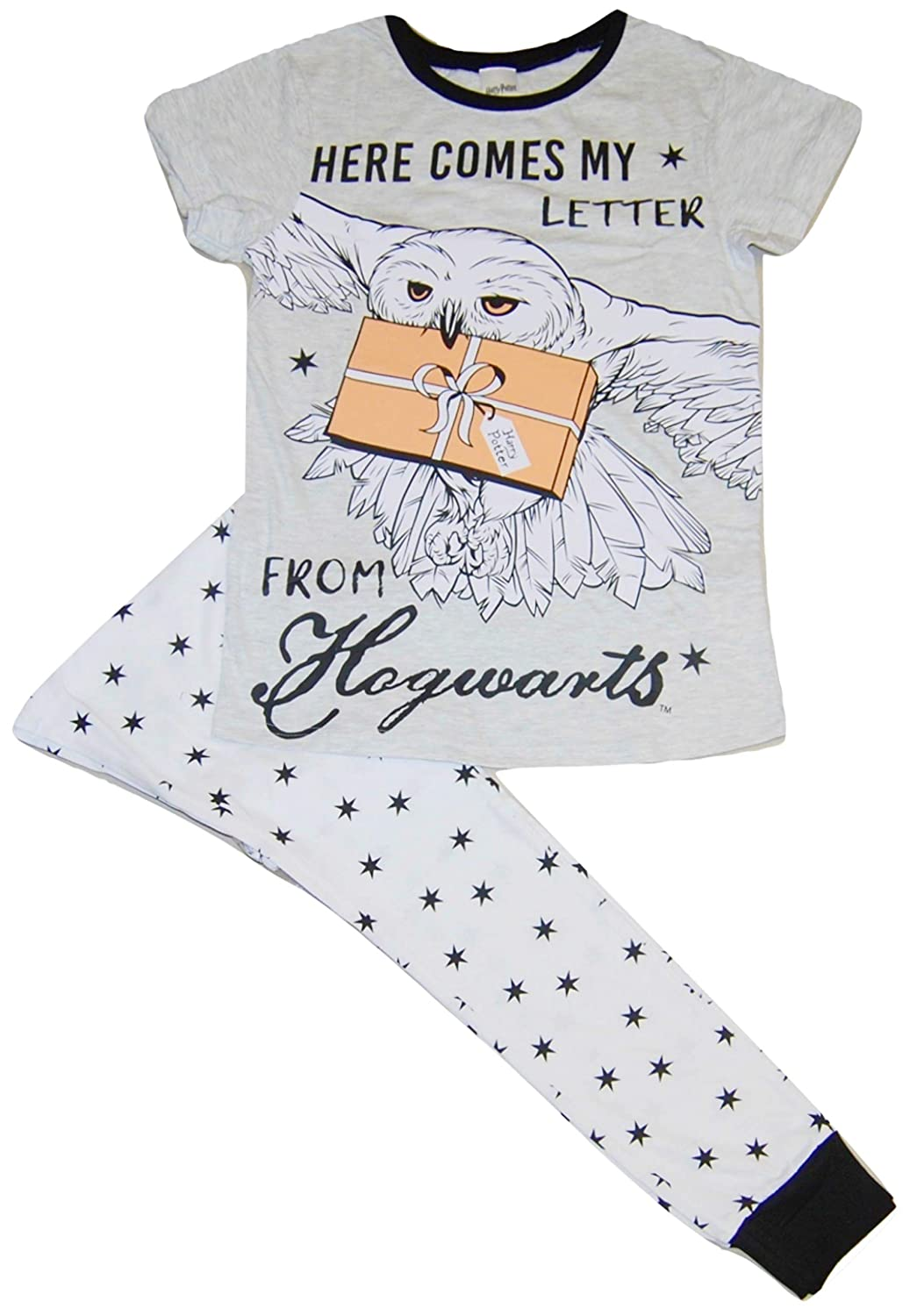 Ladies Womens Harry Potter Pyjamas Hogwarts Here Comes My Letter