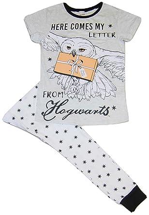 Ladies Womens Harry Potter Pyjamas Hogwarts Here Comes My Letter  Amazon.co. uk  Clothing 6ba5f1c27