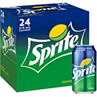 Sprite Lemonade Soft Drink Multipack Cans 24 x 375 mL