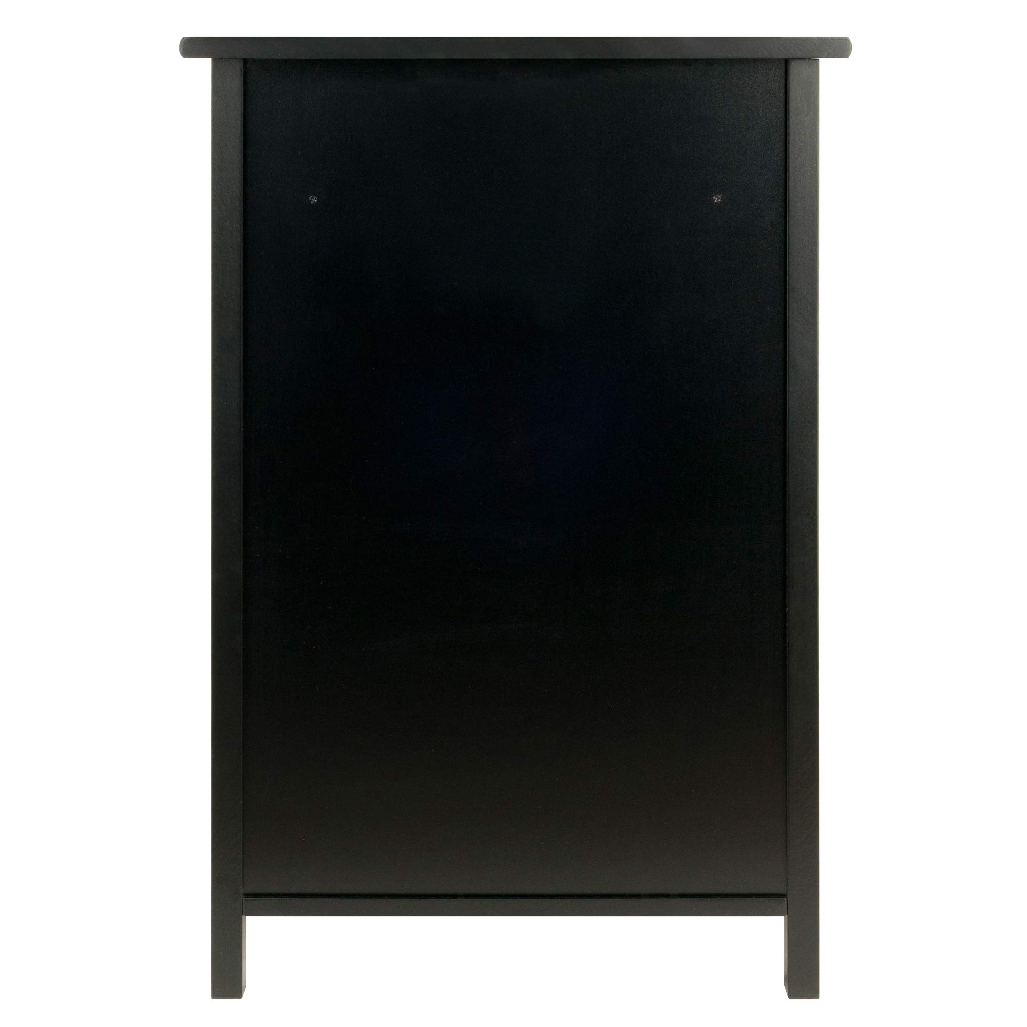 Winsome Wood 22321 Delta File Cabinet Black Home Office, by Winsome Wood (Image #6)