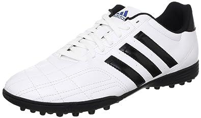 8436f2413e36 adidas Mens Mens Goletto IV TRX Football Turf Trainers in White Black - UK  7.5
