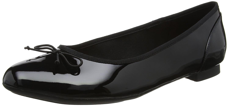 Clarks Couture Bloom 261154754- Bailarinas Mujer 43 EU|Negro (Black Pat)