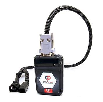 Chip Tuning caja vw Transporter T5 1.9 TDI 63 kW 85 HP rendimiento potencia PDD: Amazon.es: Coche y moto