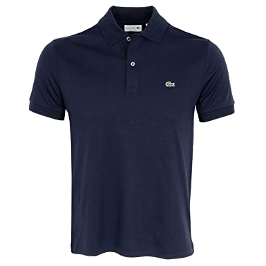 75253046fd Lacoste Men's Dh2050 Polo Shirt, Blue (Marine 166), X-Small (. Roll over  image to ...