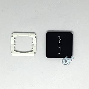 Dolphin.dyl(TM) Replacement Individual Key Cap for US MacBook Pro A1706 A1707 A1708 Key Cap with Hinge (Right Braces Brackets/Close Braces Brackets / / })