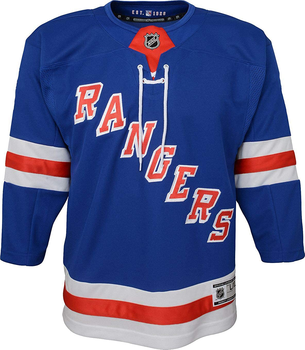 New York Rangers Blank Blue Youth Home Youth Premier Jersey