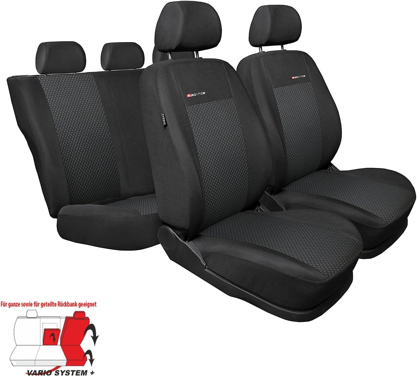 GSC Elegance Autoschonbezug-Set ma/ßgeschneidert kompatibel mit Toyota C-HR