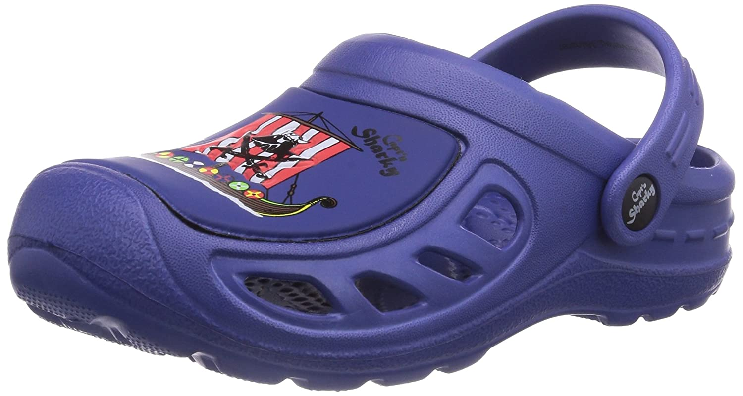 Captn Sharky boys clog Blue
