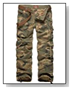 Match Men's Woodland Camo Military Cargo Pants #6326M