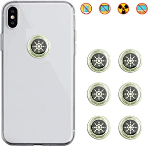 EMF Protection Cell Phone Sticker, EMR Blocker Neutralizer Device, Anti Radiation Protector Shield for All Mobile Phones, Laptop, Computer, WiFi, Router and Other Electronic Devices
