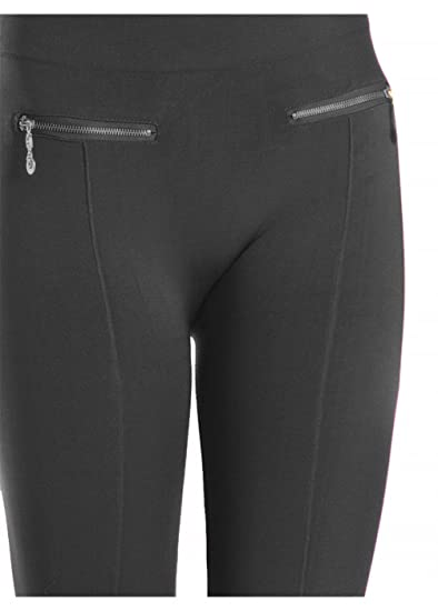 undefeated x latest style complimentary shipping SHS Women's Regular Fleece-Lined Winter Leggings with Front Pockets