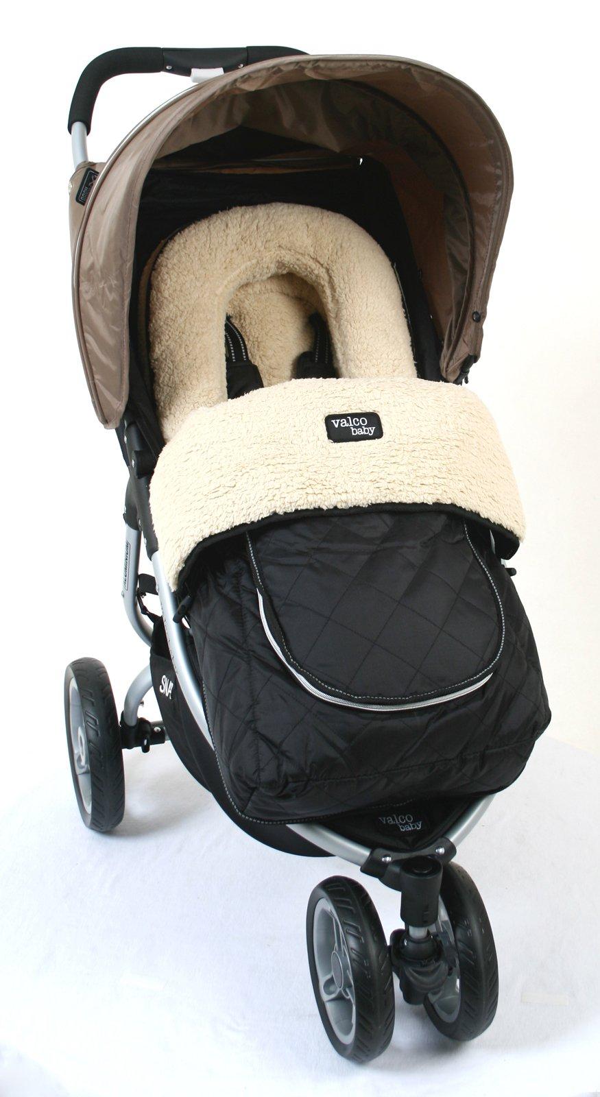 Valco Baby Universal Deluxe Fleece Foot Muff (Fluffly Fleece) by valco baby (Image #2)
