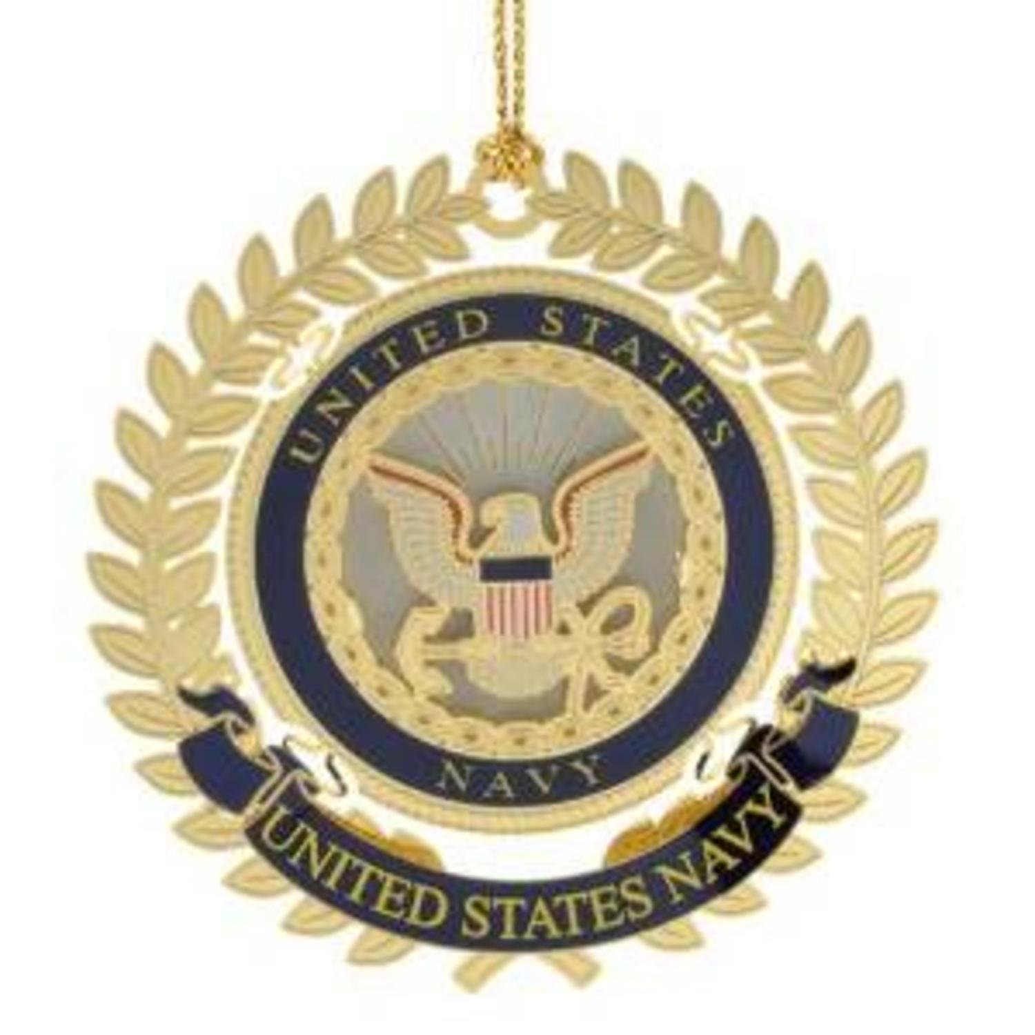 United States Navy Logo Christmas Ornament